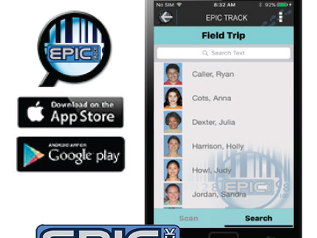 EPIC TRACK APP Now available on both Android & IOS
