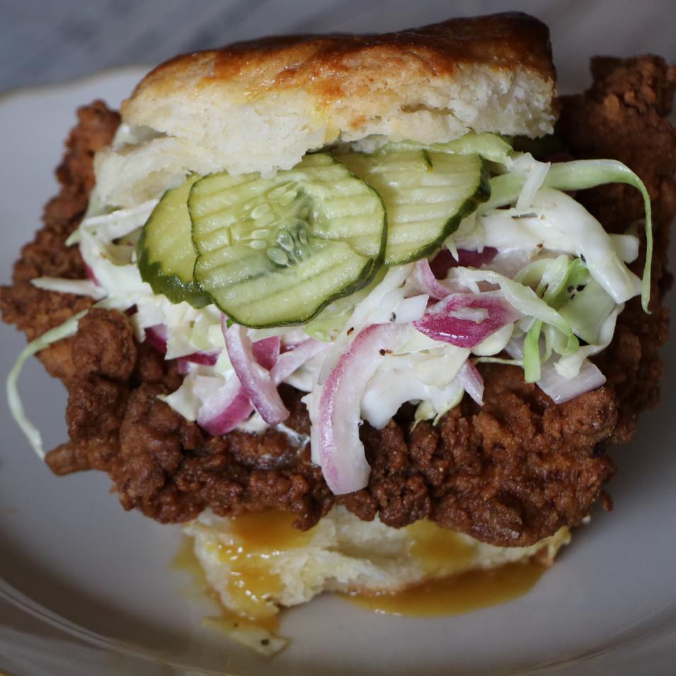 Chicken Biscuit Sandwich