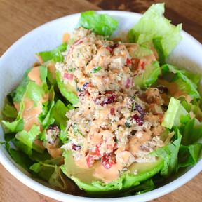 Chicken & Quinoa Stuffed Avocado