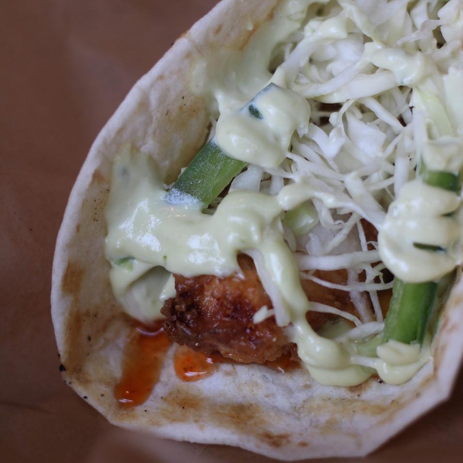 Fried Chicken Taco
