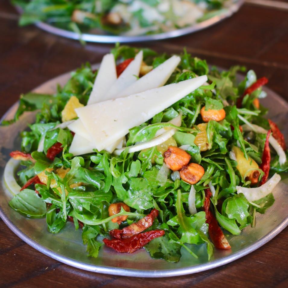 Arugula & Shaved Fennel Salad