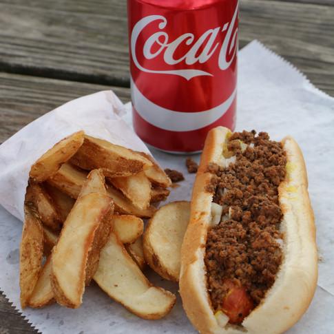 Hotdog and Fries