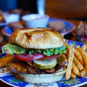 Chikory Chicken Sandwich with Fries