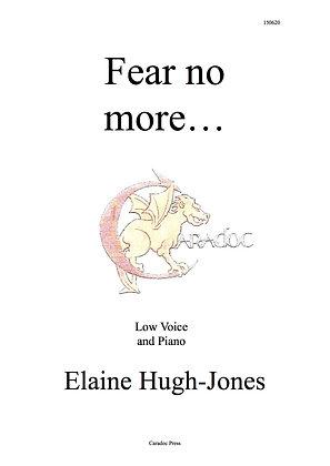 Fear No More - Low Voice