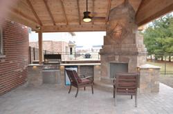 outdoor fireplace builder
