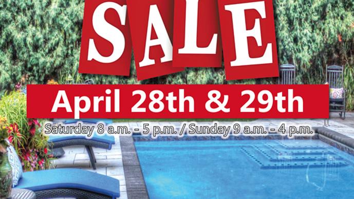 Sunday, April 29th - Super Spring Sale