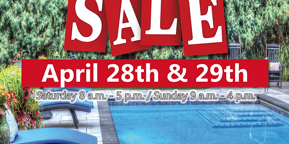 Sunday, April 29th - Super Spring Sale