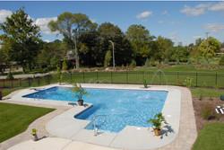 inground vinyl pool construction