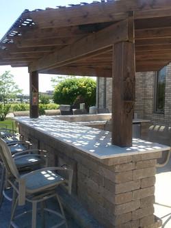 outdoor bar builder