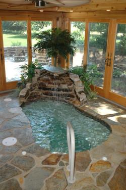 indoor spa builder