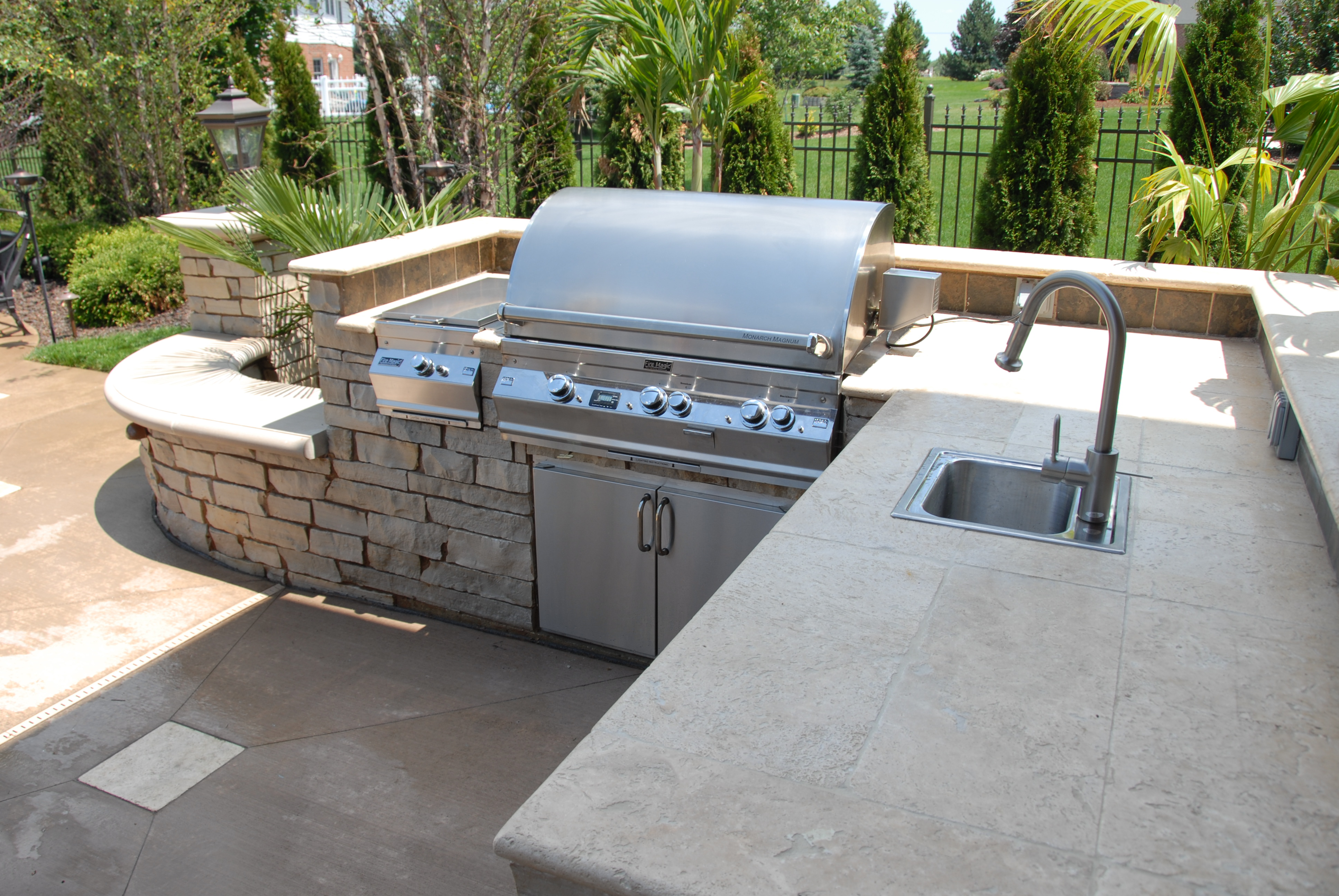 custom firemagic grill
