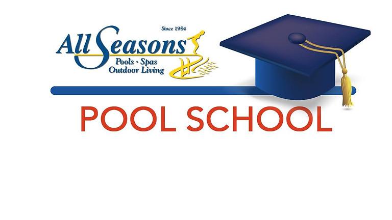 Pool School - Saturday, March 9, 2019