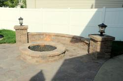 custom fire pit builder