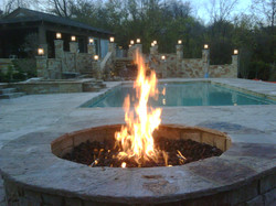 stone fire pit contractor