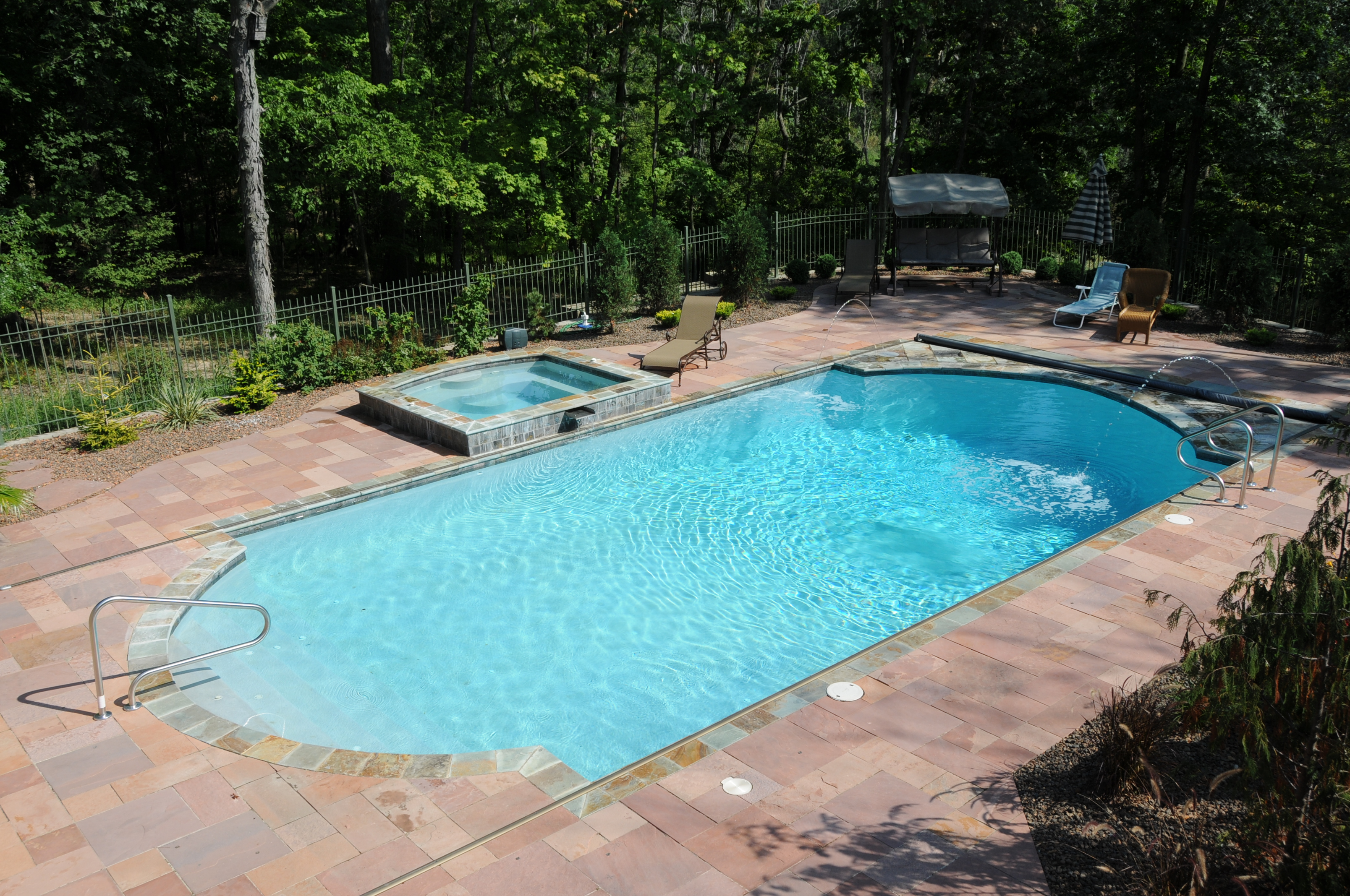 gunite in ground pool builder