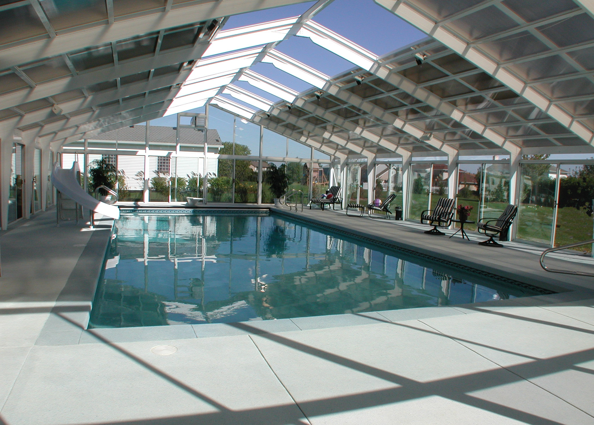 gunite indoor pool