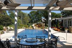 vinyl inground pool construction
