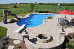 vinyl lined inground pool builder