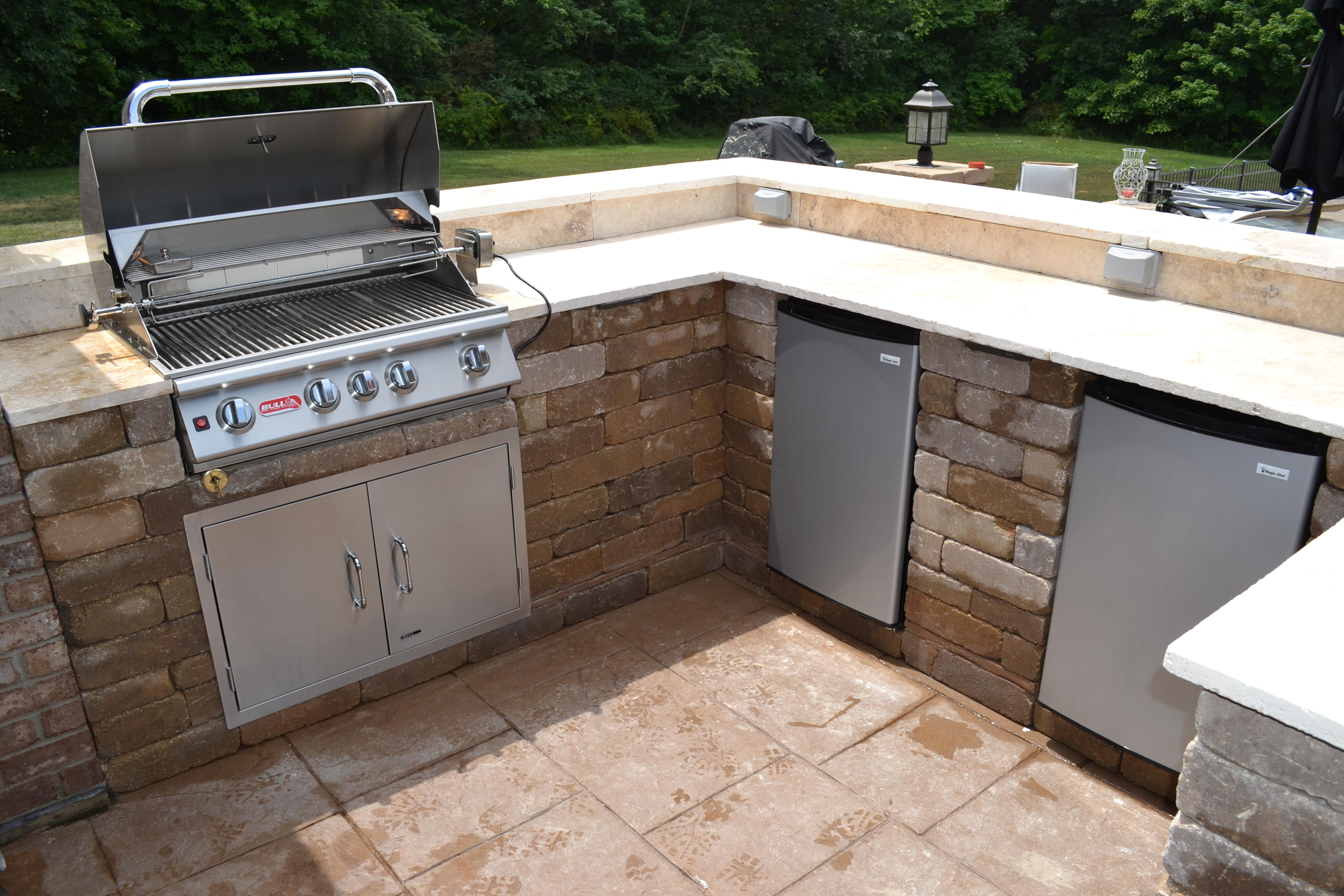 custom outdoor grill