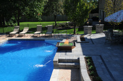 pool fire feature installer