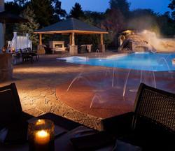 vinyl inground pool builder