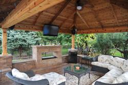 pavilion outdoor TV