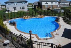 mickey mouse inground pool