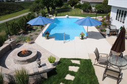 custom vinyl inground pool builder