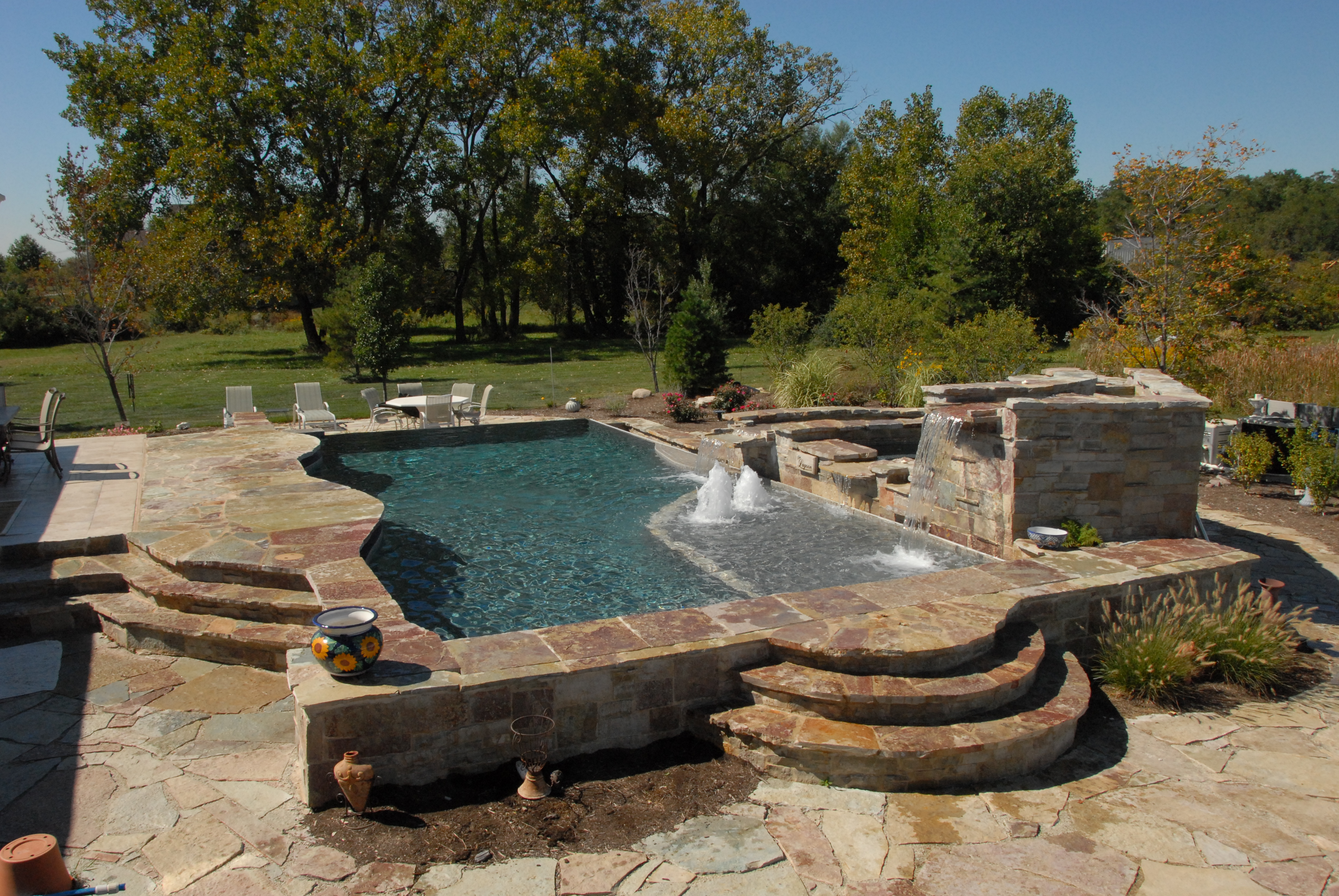 gunite inground pool builder