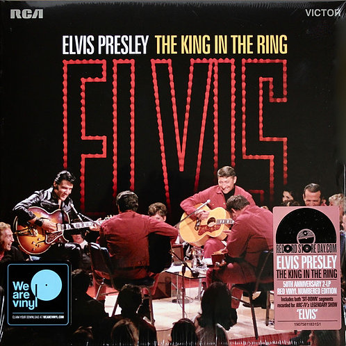 Elvis Presley  The King In The Ring (Red Vinyl)