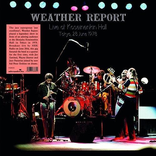 Weather Report - Live at Shinjuku Koseinenkin Hall Tokyo