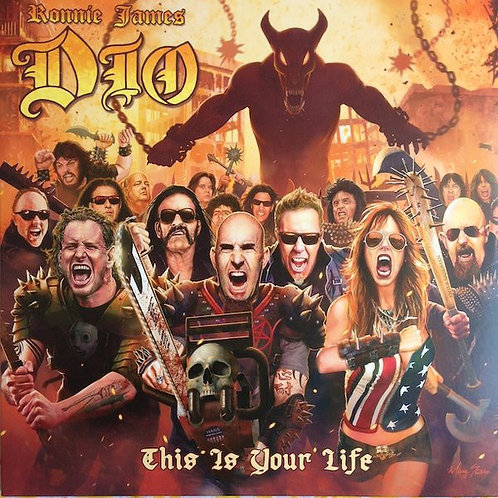 Dio Ronnie James -  This Is Your Life (Red Vinyl)