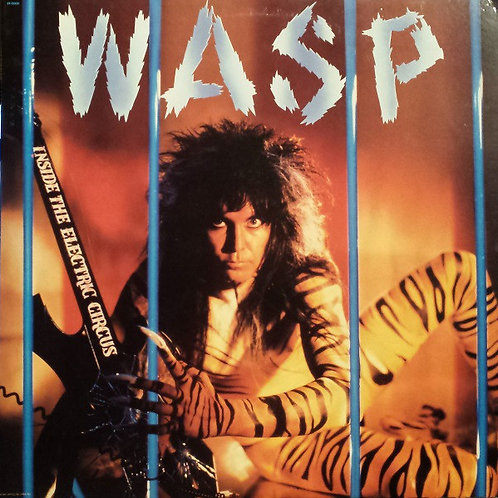 WASP ‎– Inside The Electric Circus