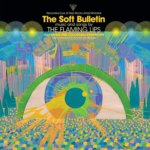The Flaming Lips Featuring The Colorado Symphony* ‎– (Recorded Liv