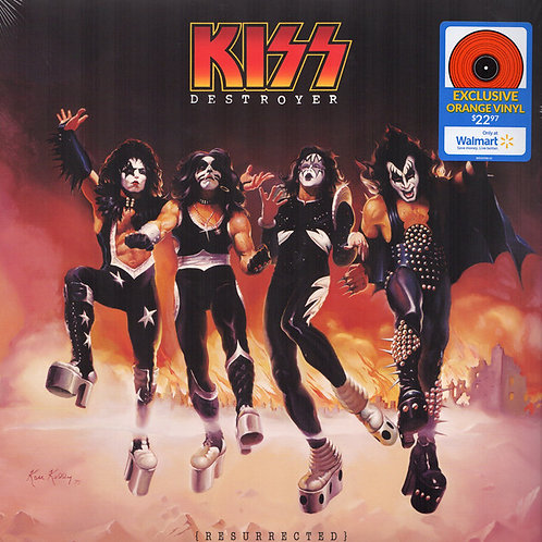 Kiss - Destroyer (Exclusive Orange Vinyl)