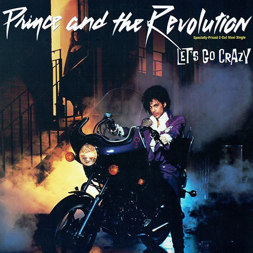 Prince And The Revolution  Let's Go Crazy (12inch Maxi Single)