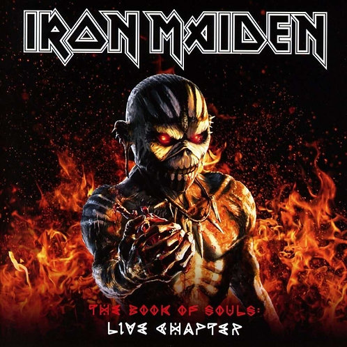 Iron Maiden ‎The Book Of Souls: Live Chapter