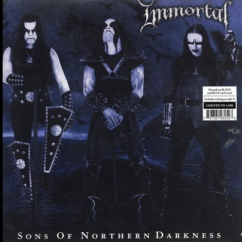Immortal - Sons Of Northern Darkness (Black/Blue Swirl)