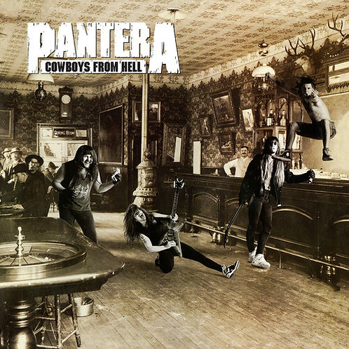 Pantera - Cowboys From Hell (Colored Vinyl)