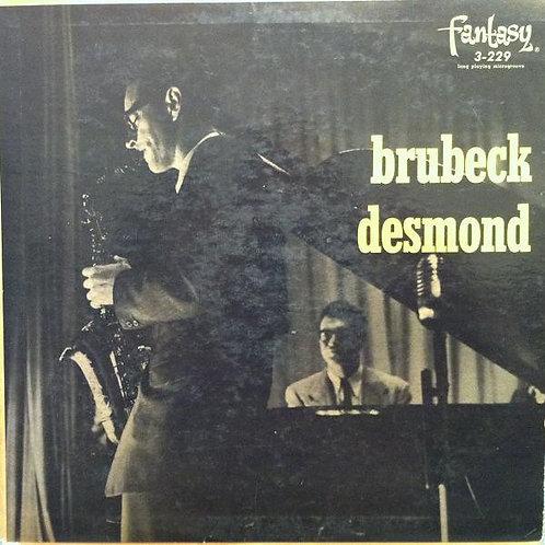 The Dave Brubeck Quartet Featuring Paul Desmond – Brubeck Desmond