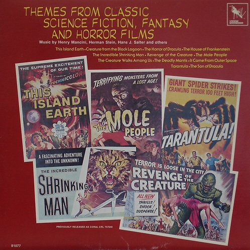 Various ‎– Themes From Classic Science Fiction, Fantasy And Horror Films