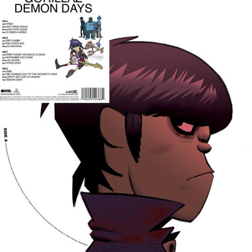 Gorillaz - Demon Days (Picture Disc)