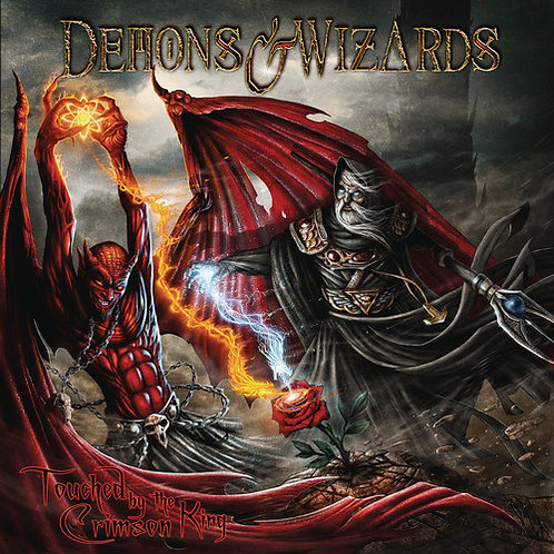 Demons & Wizzards - Touched By The Crimson King