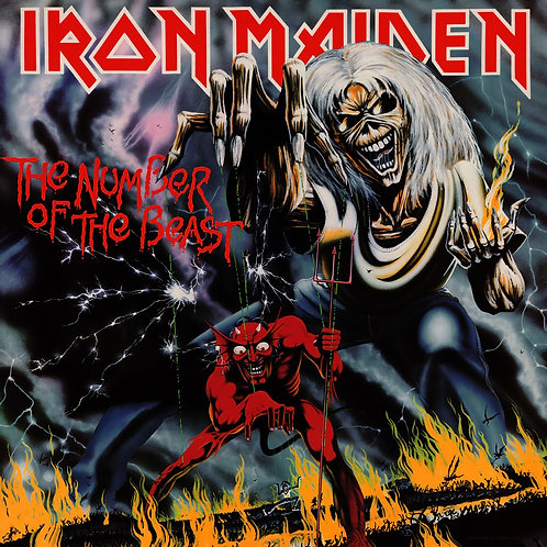 Iron Maiden - ‎Number Of The Beast