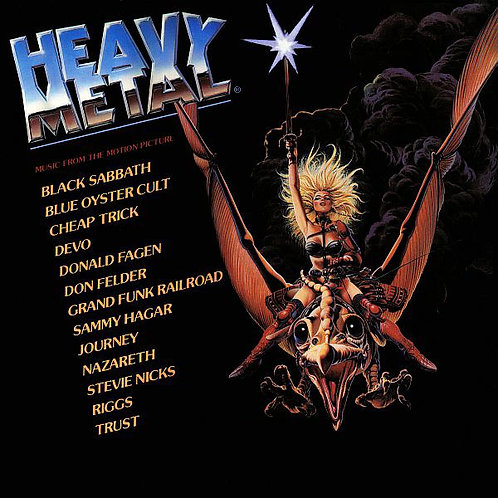 Various – Heavy Metal - Music From The Motion Picture