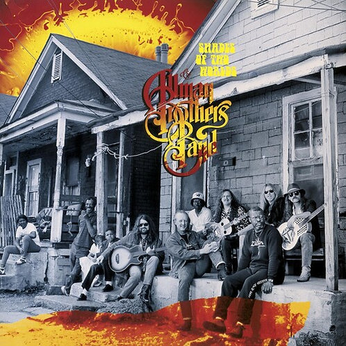 The Allman Brothers Band - Shades Of Two Worlds (Orange & Red Swirl)