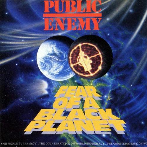 Public Enemy Fear Of A Black Planet (3D Cover)