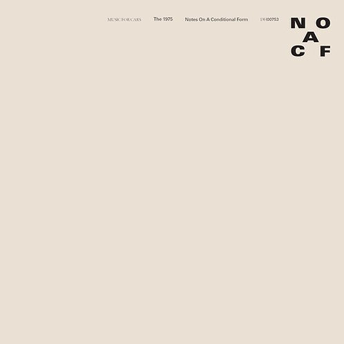 The 1975 - Notes On A Conditional Form (Clear Vinyl)