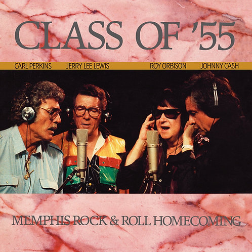 Carl Perkins, Jerry Lee Lewis, Roy Orbison, Johnny Cash – Class Of 55