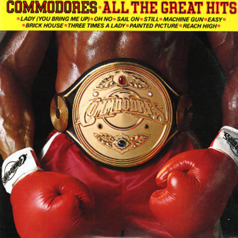 Commodores ‎ All The Great Hits